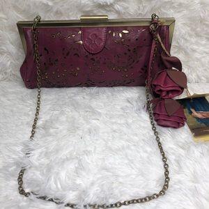 🆕Patricia Nash Vintage Laser Lace Collection Bag